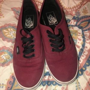 VANS low heel shoe